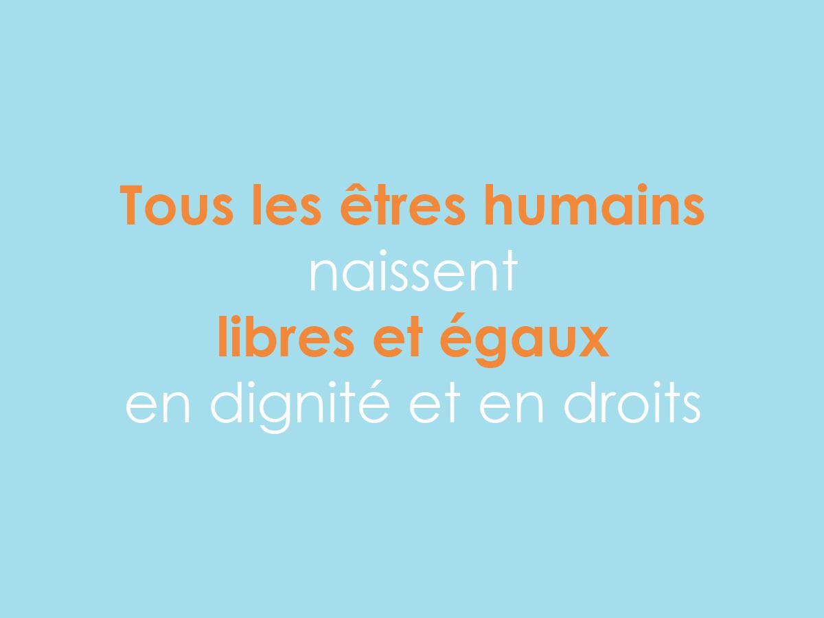 Journée mondiale des droits humains